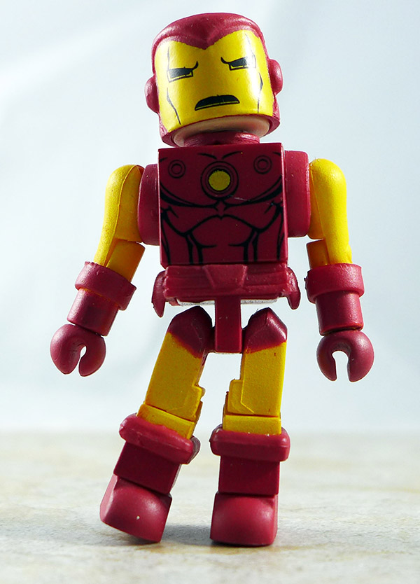 Iron Man Partial Loose Minimate (Marvel 'Best Of' Wave 1)