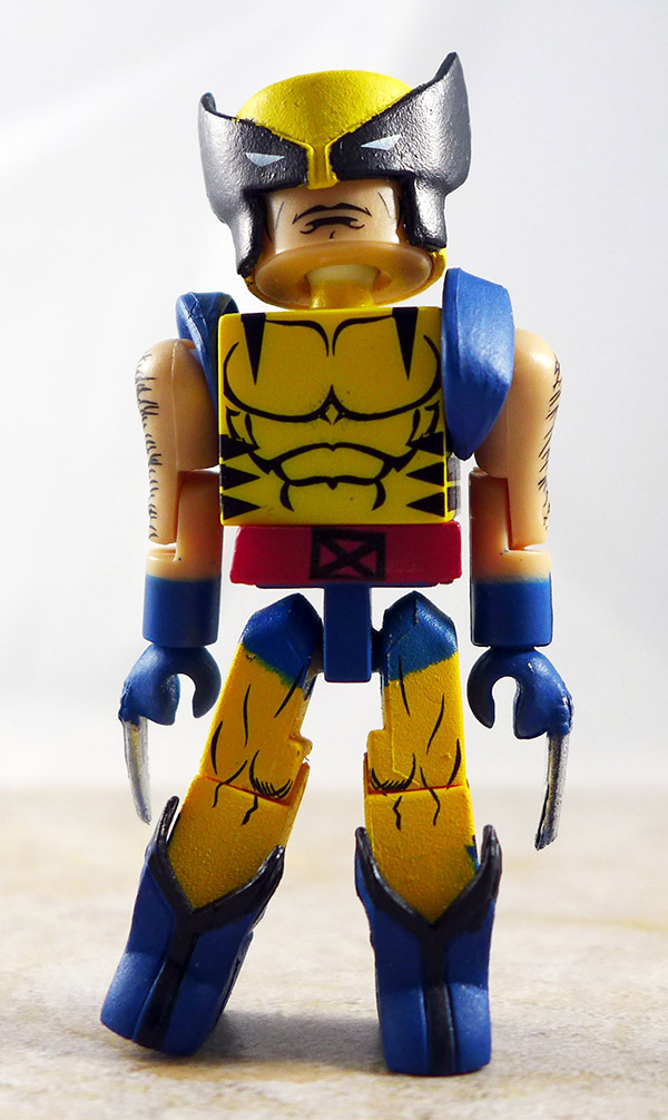 Wolverine Partial Loose Minimate (Marvel 'Best Of' Wave 1)