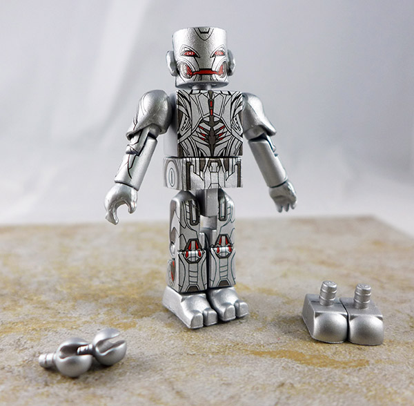 Final Form Ultron Loose Minimate (Marvel Avengers Age of Ultron Box Set)