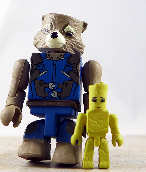Rocket with Groot Loose Minimate (Marvel Wave 71)