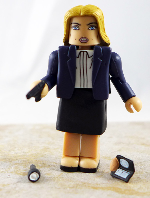 Dana Scully Loose Minimate (X-Files Two Packs)