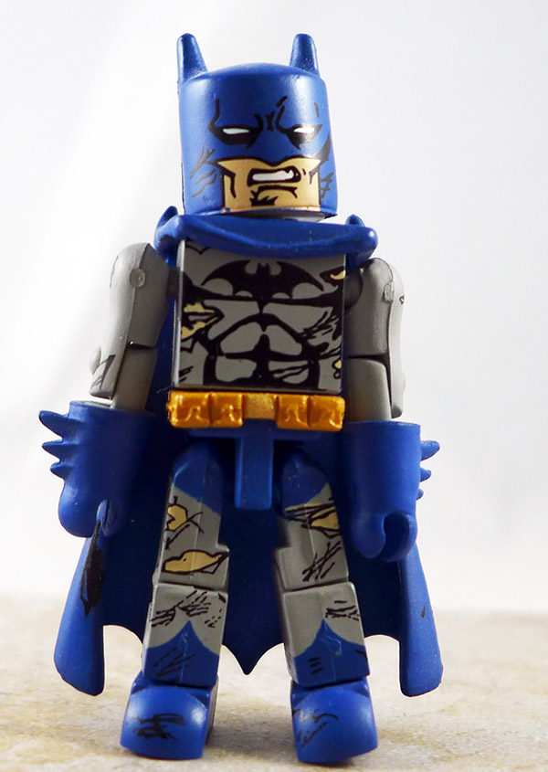 Batman Battle-Damaged Partial Loose Minimate (DC Series 3)