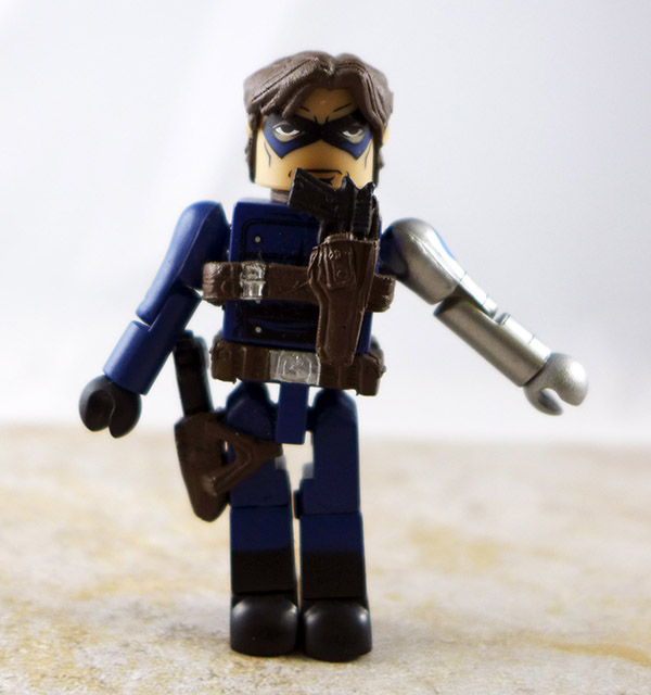 Winter Soldier Agent of SHIELD Partial Loose Minimate (Marvel TRU Wave 18)
