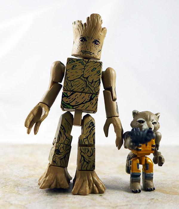 Groot & Rocket Raccoon Loose Minimate (Marvel Wave 57)