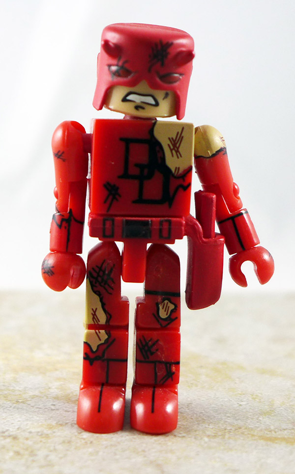 Battle Damaged Daredevil Loose Minimate (Marvel Wave 4)