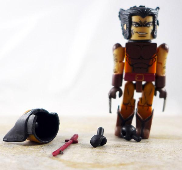 Brown Wolverine Loose Minimate (Marvel TRU Wave 9)