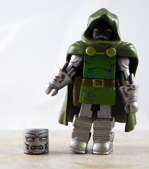 Zombie Doctor Doom Partial Loose Minimate (Marvel Villain Zombies 2 Box Set)