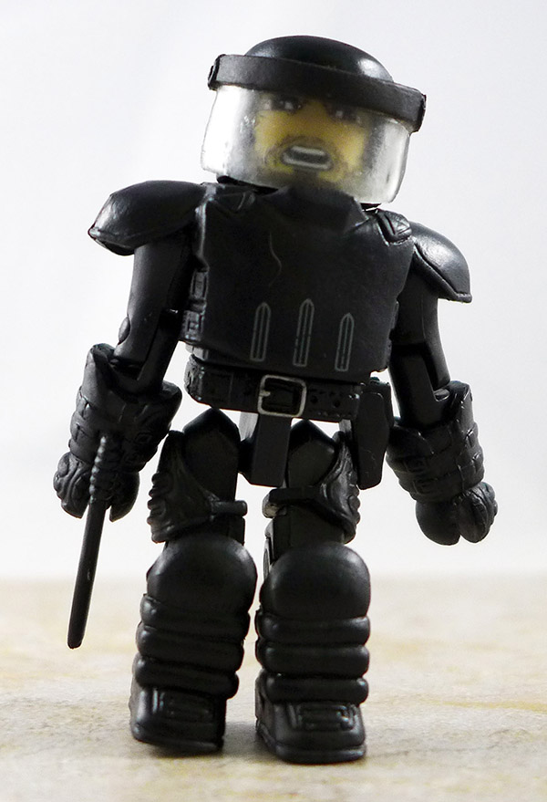 Riot Gear Rick Partial Loose Minimate (Walking Dead Wave 3)