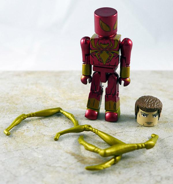 Iron Spider-Man Loose Minimate (Marvel TRU Wave 21)