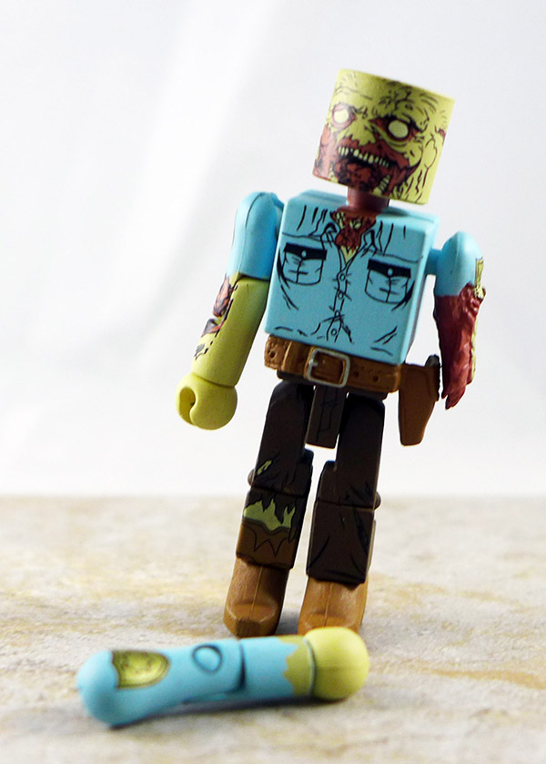 Guard Zombie Loose Minimate (Walking Dead Wave 3)