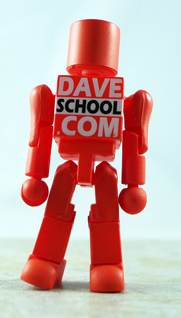 Dave School Promo (Red) Loose Minimate (Dave School Promotional Single Packs)