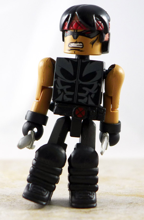 X-Force Warpath Custom Loose Minimate (Marvel Wave 37)