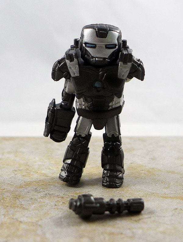 Battle Damaged War Machine Partial Loose Minimate (Iron Man 2 Battle Tactics Box Set)