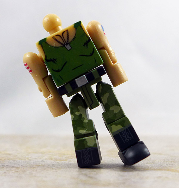 Guile Partial Loose Minimate (Street Fighter X Tekken TRU Series 1)