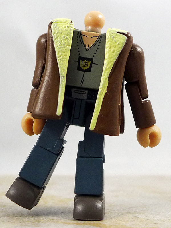 John Colby Partial Loose Minimate (Comic Book Heroes Wave 1)