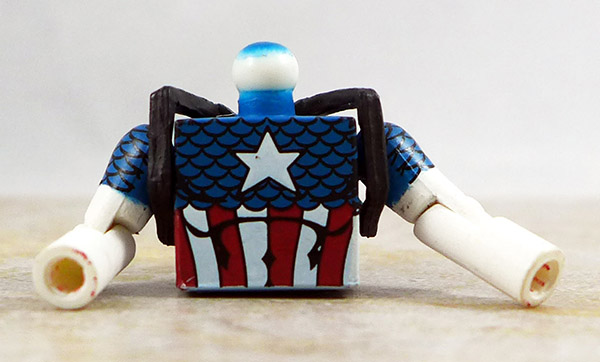 Captain America Partial Loose Minimate (Invaders Box Set)
