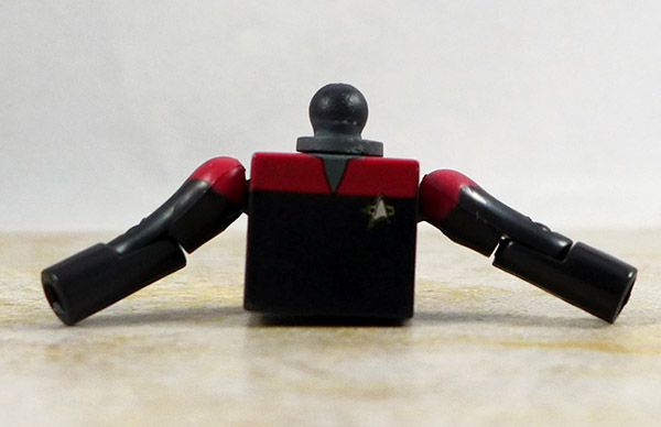 Captain Sisko Partial Loose Minimate (Star Trek Legacy Wave 1)