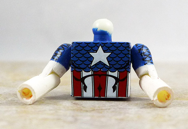 Captain America Partial Loose Minimate (Marvel Heroes Box Set)