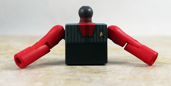 Captain Sisko (vest) Partial Loose Minimate (Star Trek Legacy TRU Series 1)