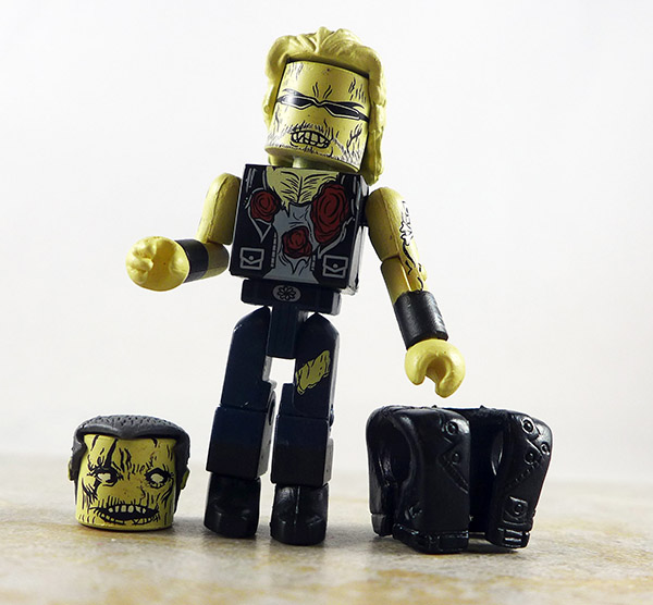 Zombie Biker Loose Minimate (Maximum Zombies NYCC 2011 Exclusive Two Pack)