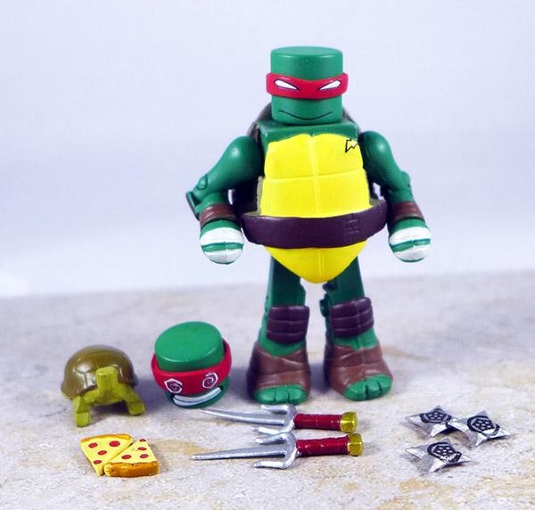 Sewer Raphael Loose Minimate (TMNT TRU Series 2)