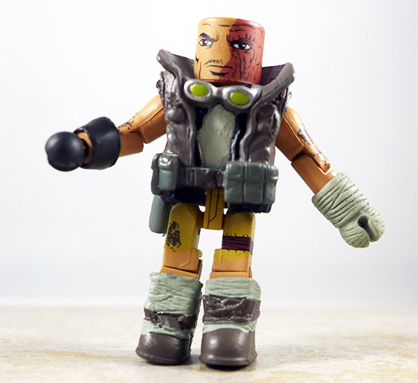 Tomb Raider Scavenger Scout Partial Loose Minimate (Tomb Raider Specialty Wave)