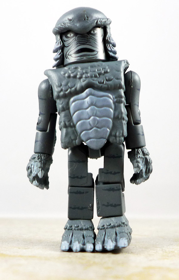 Black and White Creature from the Black Lagoon Loose Minimate (Universal Monsters TRU Wave 1)