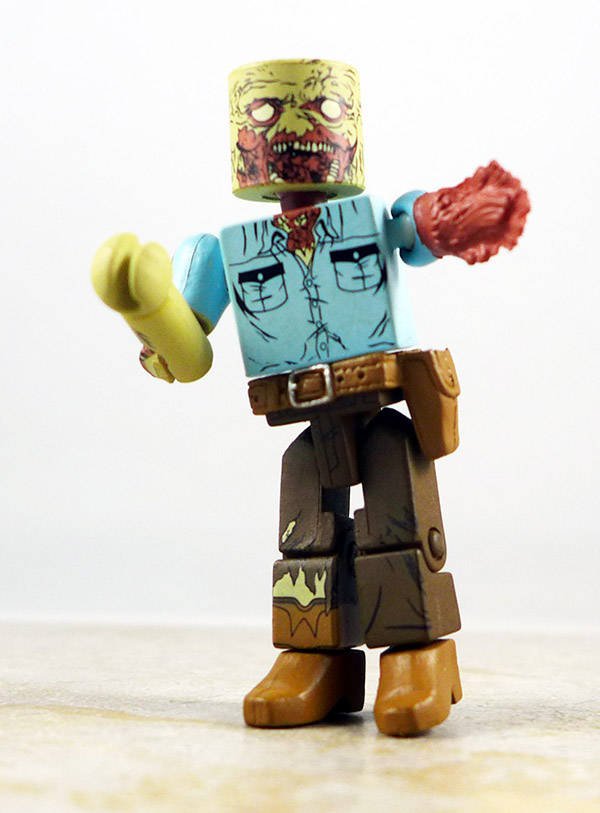 Guard Zombie Partial Loose Minimate (Walking Dead Wave 3)