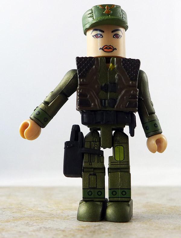 Lieutenant Boomer Custom Partial Loose Minimate (Battlestar Galactica Wave 2)