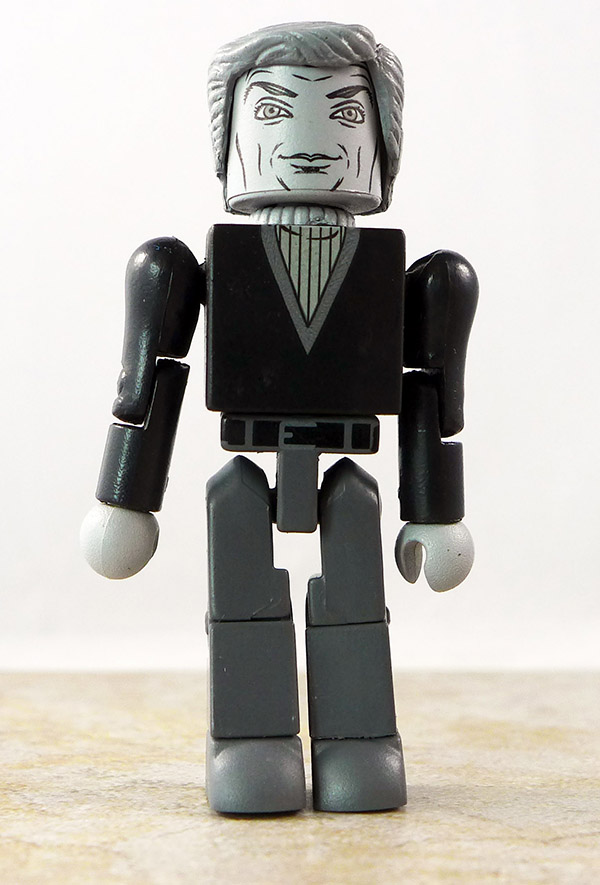Dr. Zachary Smith (B&W) Partial Loose Minimate (Lost in Space 2013 SDCC Exclusive Two Pack)