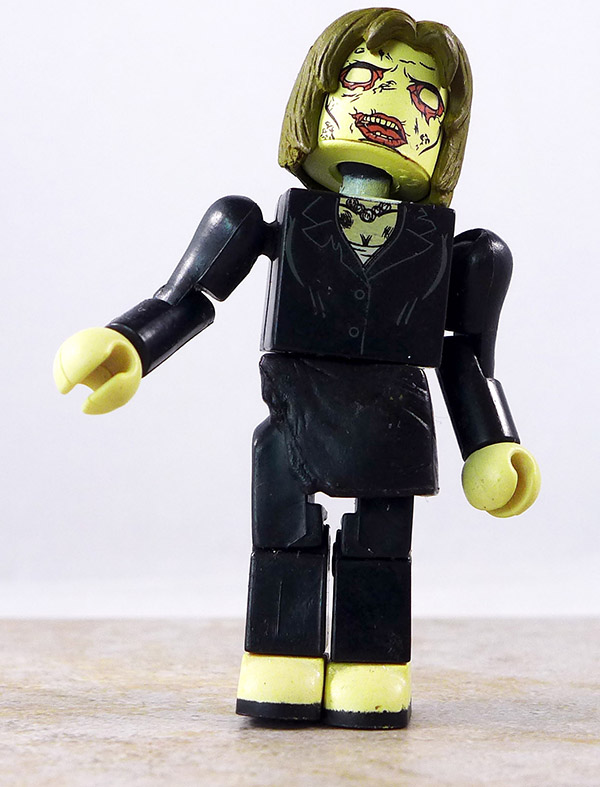 Business Zombie Partial Loose Minimate (Walking Dead TRU Wave 5)