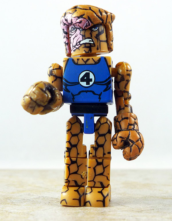 Battle-scarred Thing Partial Loose Minimate (Marvel Wave 8)
