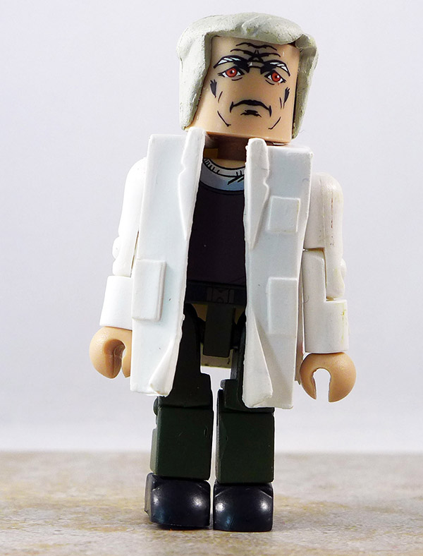 Doc Cottle Partial Loose Minimate (Battlestar Galactica Wave 4)