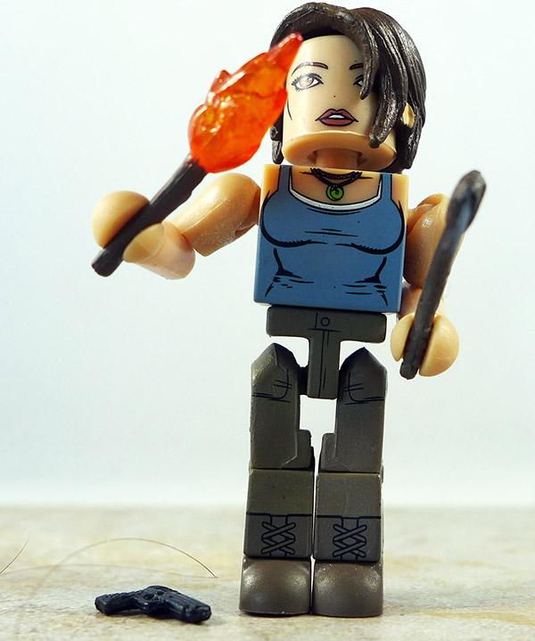 Lara Croft Custom Partial Loose Minimate (Tomb Raider Specialty Wave)