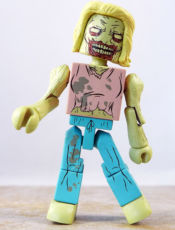 Emaciated Zombie Loose MInimate (Walking Dead TRU Wave 5)