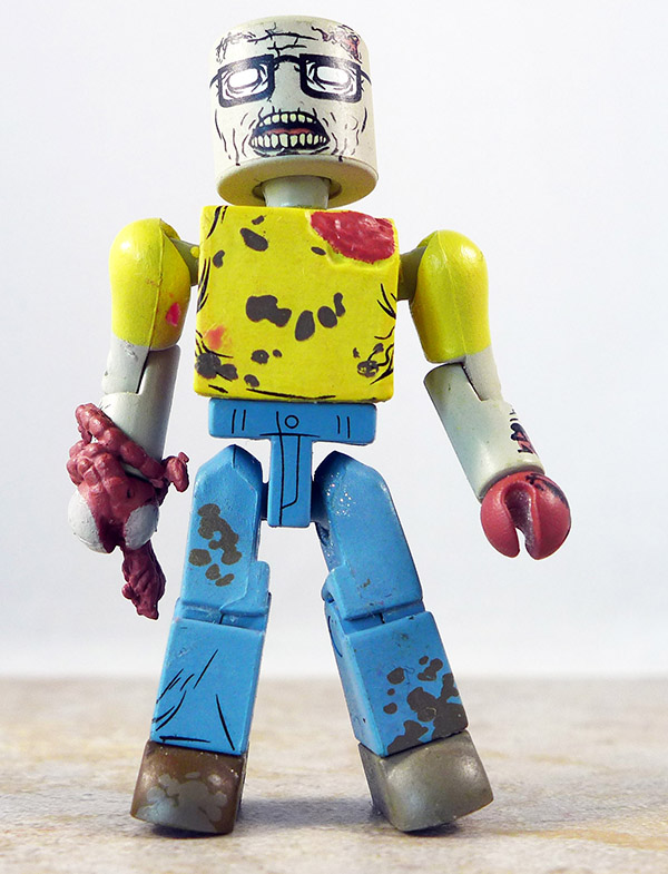 Geek Zombie Partial Loose Minimate (Walking Dead Wave 5)
