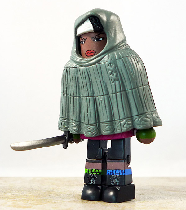 Hooded Michonne Partial Loose Minimate (Walking Dead Wave 4)