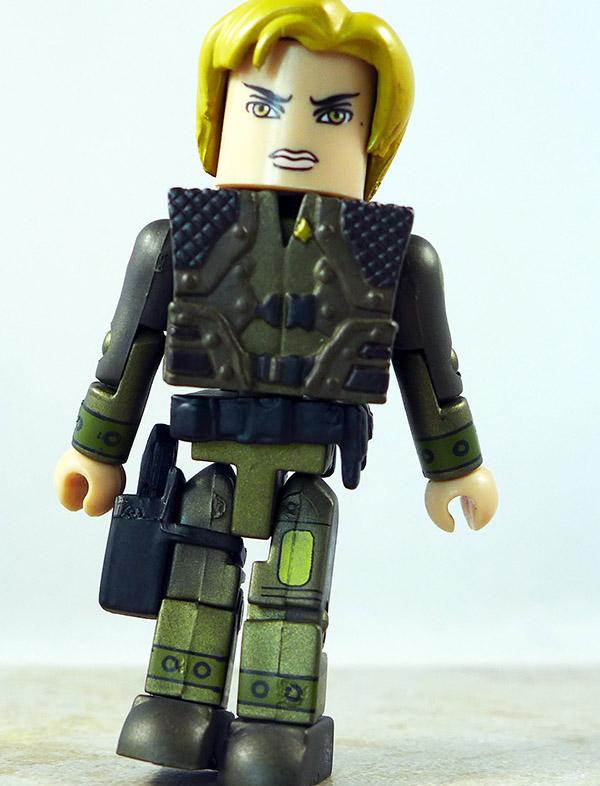 Lieutenant Starbuck Partial Loose Minimate (Battlestar Galactica Wave 1)