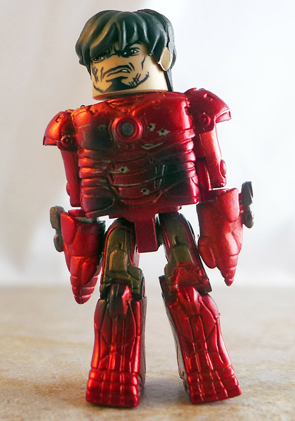 Battle Damaged Mark III Iron Man Partial Loose Minimate (Marvel Hostile Takeover Box Set)