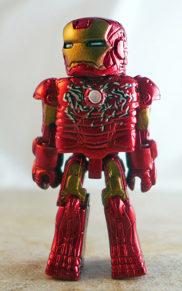 Mark III Iron Man Loose Minimate (Marvel Iron Man Hall of Armor Box Set)