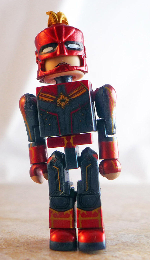 Captain Marvel Partial Loose Minimate (Marvel Walgreens Captain Marvel Two Packs)