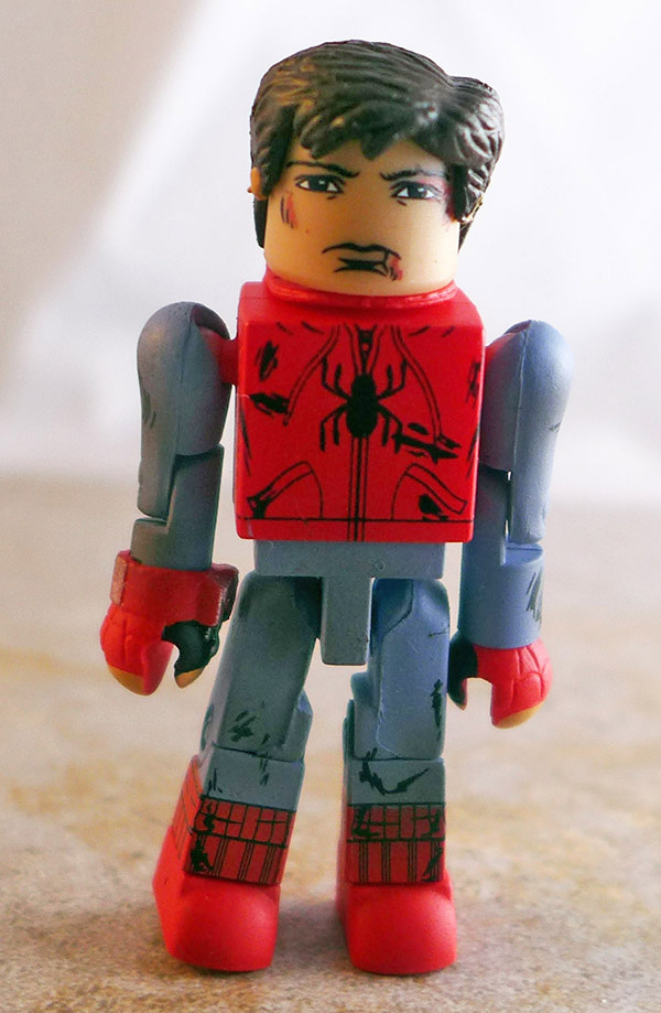 Battle-Damaged Spider-Man Partial Loose Minimate (Marvel Wave 73)