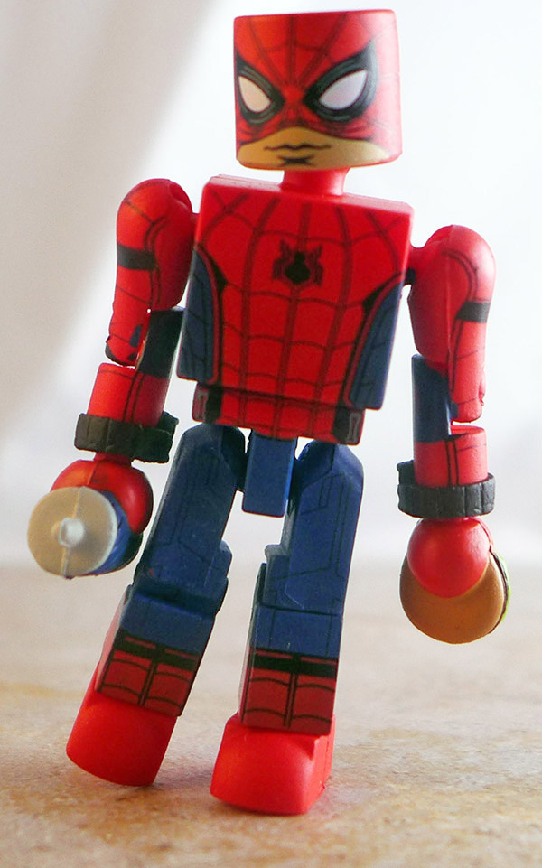 Spider-Man Partial Loose Minimate (Marvel SDCC Homecoming Two Pack)