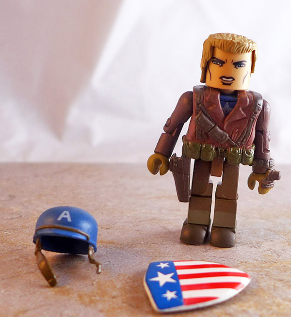 Frontlin Captain America Partial Loose Minimate (Marvel Wave 40)