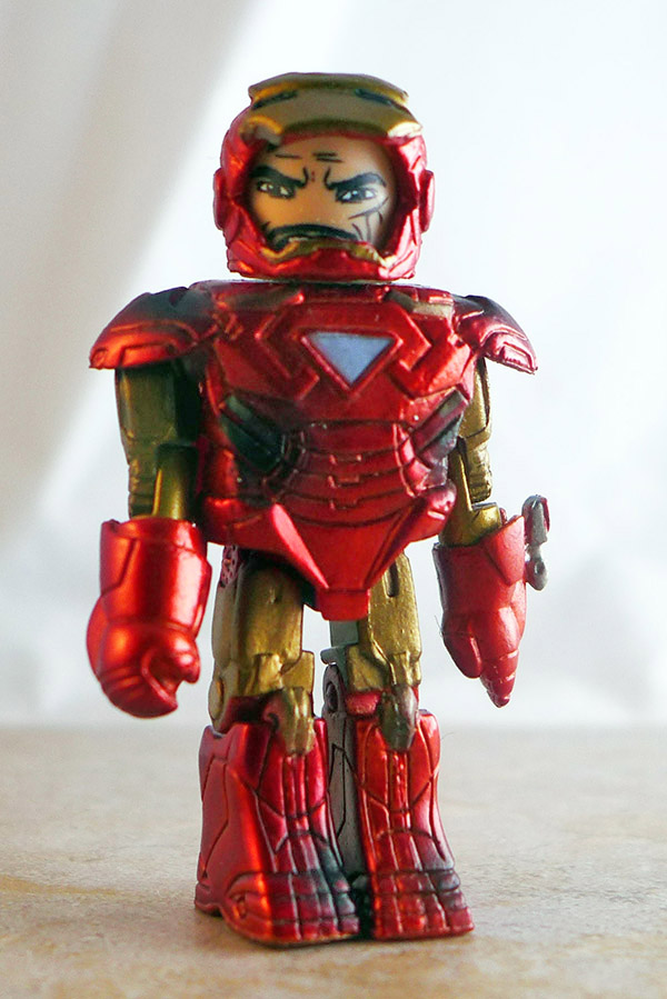Battle Damaged Mark VI Iron Man Partial Loose Minimate (Marvel Iron Man 2 Battle Tactics Box Set)
