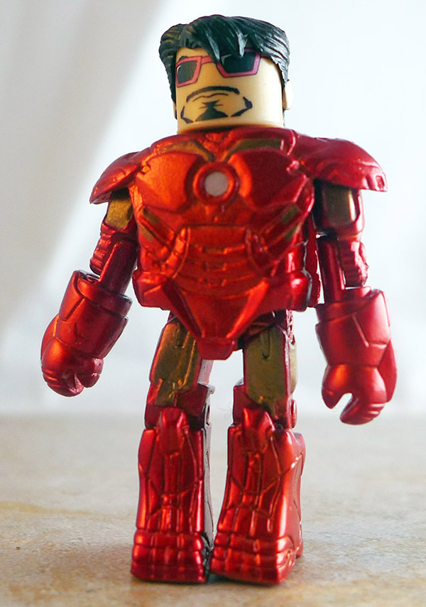 Mark IV Iron Man Partial Loose Minimate (Marvel Borders Iron Man 2 Two Packs)