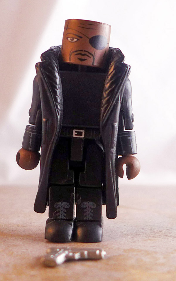 Nick Fury Loose Minimate (Marvel Iron Man 2 Battle Tactics Box Set)