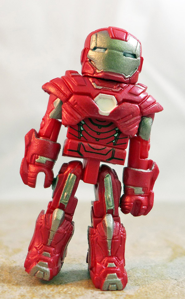 Silver Centurion Iron Man Partial Loose Minimate (Marvel TRU Iron Man 3 Two Packs)