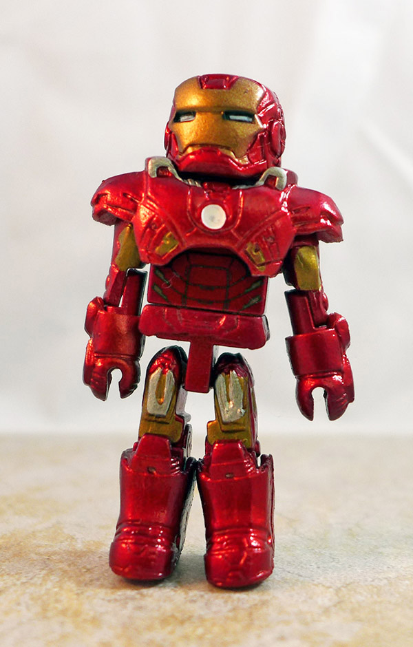 Mark VII Iron Man Loose Minimate (Marvel Iron Man Hall of Armor Box Set)