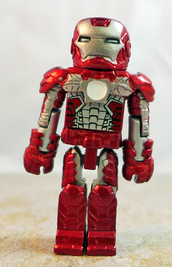 Mark V Iron Man Loose Minimate (Marvel Iron Man Hall of Armor Box Set)